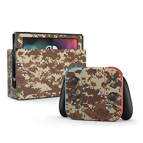 Digital Desert Camo - Decal Sticker Wrap - Compatible with Nintendo Switch