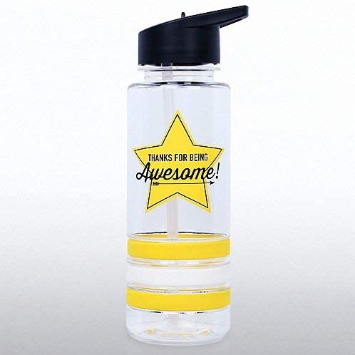 24oz Employee Recognition and Appreciation Award Baudville Employee Gift Water Bottle Thanks for Being Awesome!