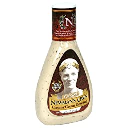 Newman\'s Own Creamy Caesar Dressing, 16-Ounce Bottles (Pack of 6)