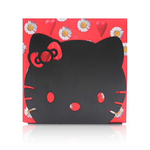 - Finex Hello Kitty Head Stainless Steel Napkin Holder Stand for kitchen table party (Black)