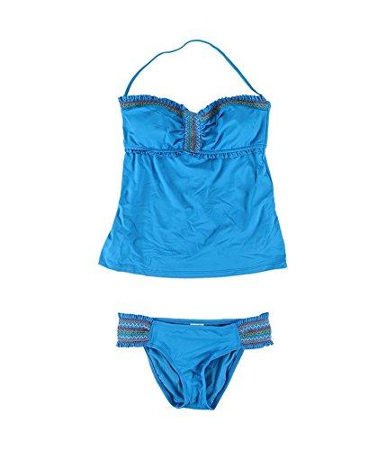 Pièces Maillot Marine Bain De Femme Bleu Lucky Brand Deux Opaque qXxH465w5