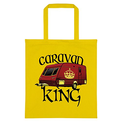 Tote RealSlickTees King Caravan Yellow Bag Pzpvq4