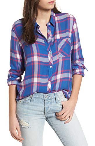 依存する温室恒久的[レイルズ] レディース シャツ Rails Hunter Plaid Shirt [並行輸入品]