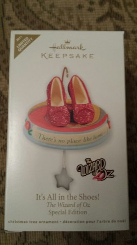 - Hallmark 2011 - Its All in the Shoes - Wizard of Oz Ruby Red Slippers - Limited Quantity