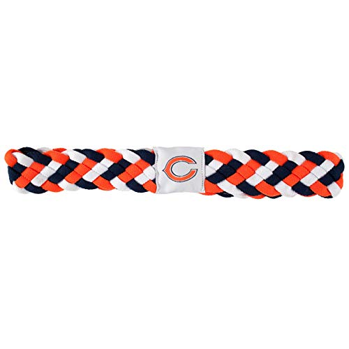Littlearth NFL Chicago Bears Braided Headband