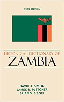 Book Historical Dictionary of Zambia (Historical Dictionaries of Africa)