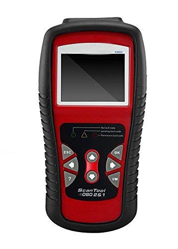 Ideashop KW830 OBD2 EOBD Car Fault Code Reader Scanner Automotive Diagnostic Live Data Code Reader Check Engine Car Trouble Scanner