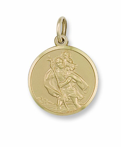 Stubbs Pendentif Motif Saint Christophe en or jaune