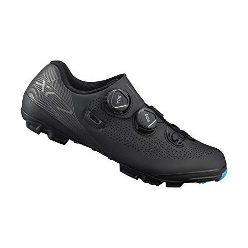 SHIMANO SH-XC701 LSG Series Off-Road Racing, XC Race, Cycling Bicycle Shoes, Black, 44