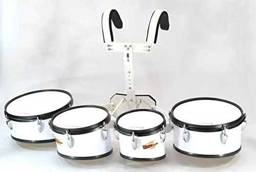 Trixon Field Series II - 4 Piece Marching Toms by Trixon Drums
