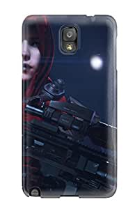 High Quality MeSusges Killzone Shadow Fall Echo Skin Case Cover Specially Designed For Galaxy - Note 3