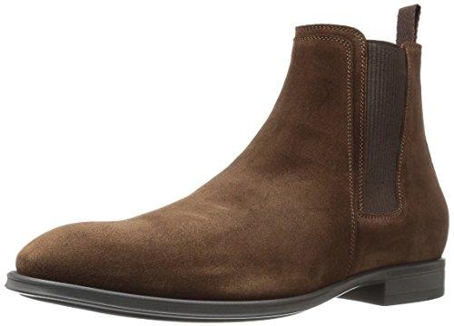 Aquatalia Men's Damon Chelsea Boot, Rusty Brown, 10.5 M US (Ryn Fashion Men)
