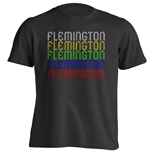 4Ink Retro Hometown - Flemington, NJ 08822 - Black - XX-Large - Vintage - Unisex - - Flemington Shops