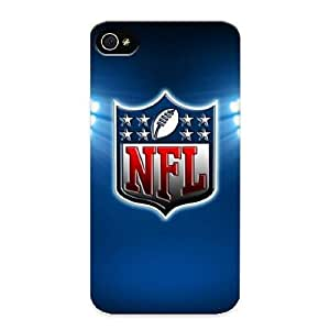 Stylishgojkqt Durable Football Logo Back Case/ Cover For Iphone 4/4s For Christmas