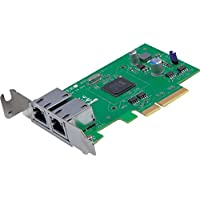 Supermicro AOC-SGP-I2 2-Port PCI-Express 2.1 x4 Gigabit Ethernet Controller Card