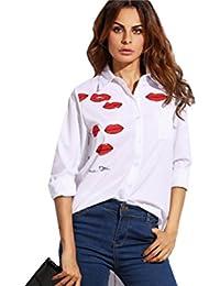 Blusas De Mujer De Moda 2017 Camisas Tops Para Mujer Elegantes Casuales