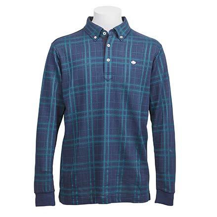 フィドラ FIDRA 長袖シャツポロシャツ 長袖ボタンダウンポロシャツ XL ネイビー B07JFZ3WJS