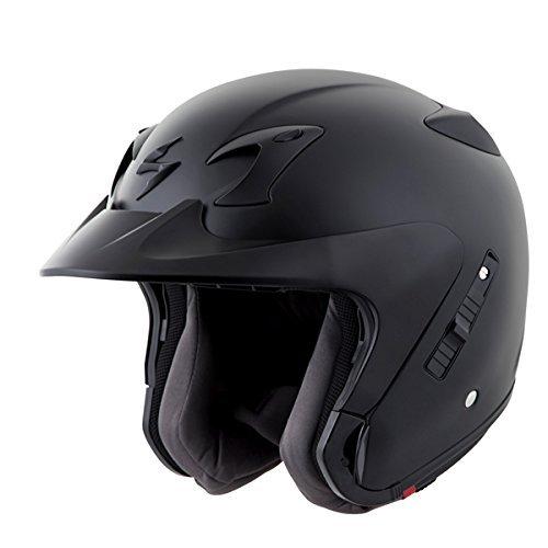 Scorpion EXO-CT220 Street Motorcycle Helmet (Matte Black, X-Large)