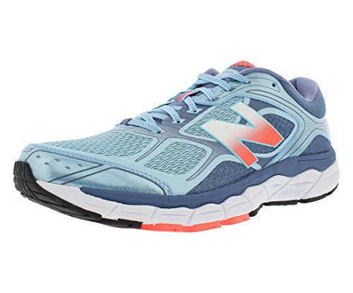 New Balance W860V6 Running Wide Womens Shoes Blue/Pink