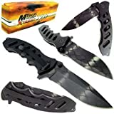 "MTECH XTREME USA MX-8027A TACTICAL FOLDING KNIFE 5"" CLOSED"