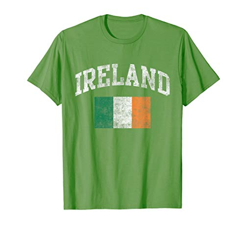 Vintage Ireland Irish Flag Green St. Patrick's Day ()
