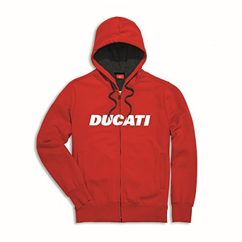 Ducati Ducatiana Hooded full zip sweatshirt