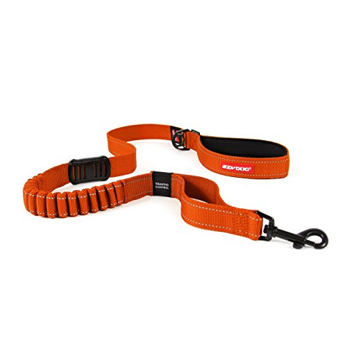 - EzyDog ZERO SHOCK Leash - Best Shock Absorbing Dog Leash, Control & Training Lead (48