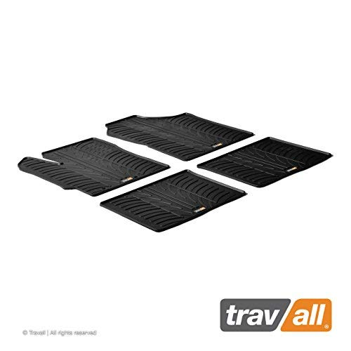 (Travall Mats Compatible with Toyota Yaris 4 Door Hatchback (2010-2014) TRM1131 - All-Weather Rubber Floor Liners)