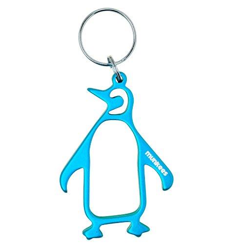 Munkees portachiavi apribottiglie Pinguino Blu 34306