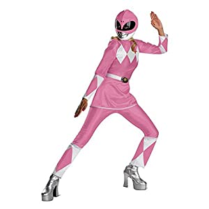 Disguise Womens Deluxe Power Ranger Costume