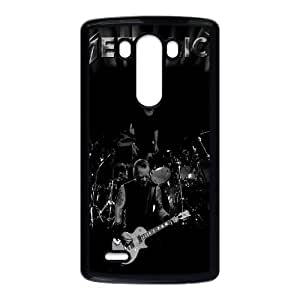 Metallica Funda LG G3 Funda caja del teléfono celular Negro Y6D6GB Plastic caja del teléfono celular Sports