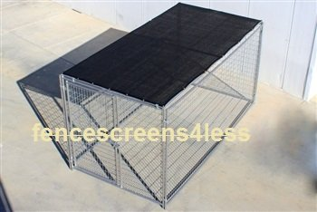 Dog Kennel Shade Cover Dark Green 5′ X 15′(COVER ONLY)
