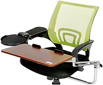 Best To Buy Chair Mount Ergonomic Keyboard Laptop Tray System Plus Chair Mount Armrest Mouse Tray Walnut Chair Is Not Including Amazon Co Uk Office Products