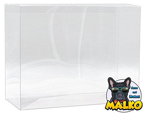 Malko Funko Pop Protector Case for 2 Pack Vinyl Figures (5 Count) (5 Vinyl Figure)