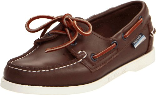 Sebago Women's Docksides Boat Shoe,Brown Elk,10 M - Brown Elk
