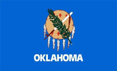 Oklahoma Flag 4 x 6 Feet Nylon - Outdoor