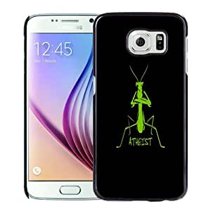 New Personalized Custom Designed For Samsung Galaxy S6 Phone Case For Atheist Phone Case Cover