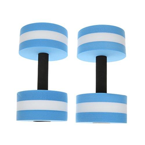 MagiDeal Water Aerobics Dumbbell Foam Aquatic Barbell Fit...