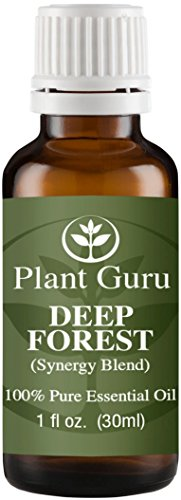 Deep Forest Synergy Essential Oil Blend 30 ml. 100% Pure, (Forest Aromatherapy)