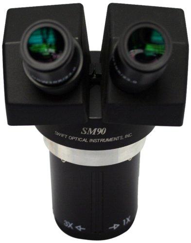 Swift Optical SM95 Binocular Stereoscope Head, 1X and 3X Mag