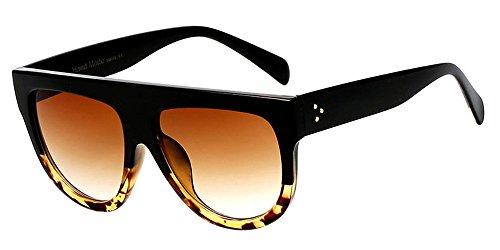 Gafas al para Estilo Gafas deporte y libre aire Nuevo 01 Mujer Siamese Hombre de BOZEVON sol Moda UV400 fPq74