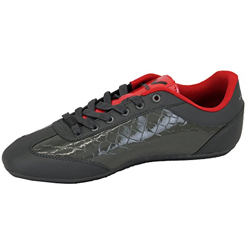 Voi Murano Herren Sneaker silberfarben / rot