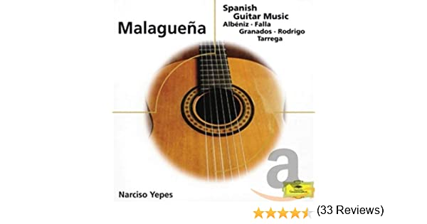 Malaguena - Spanish Guitar Music: Narciso Yepes: Amazon.es: Música
