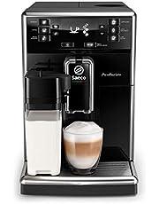 Saeco Espressomachine PicoBaristo - 10 Koffievariëteiten - 1 Gebruiksprofiel - Geintegreerde melkbeker -Automatische reiniging - Keramische molen - Aanraakdisplay - Afneembare zetgroep - SM5460/10