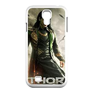 J-LV-F Customized Thor Loki Pattern Protective Case Cover Skin for Samsung Galaxy S4 I9500