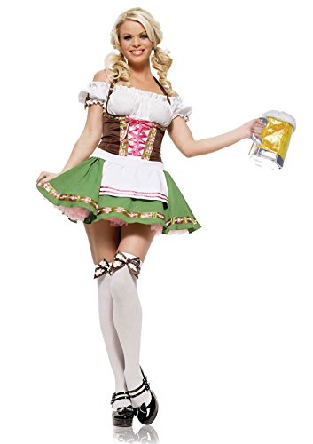 Gretchen Girl Adult Womens Plus Size Costumes (Gretchen Adult Costume - Plus Size 3X/4X)