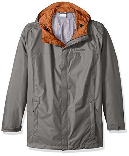 - Columbia Men's Big and Tall Watertight Ii Packable Rain Jacket, Boulder, 1X