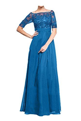 mujer Topkleider trapecio Azul para Vestido qXxtxRz