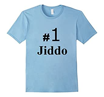 Men's World's Best and #1 Jiddo Arab Grandfather T Shirt 3XL Baby Blue