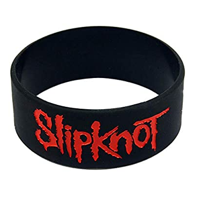 Relddd Silicone Bracelets With Sayings Slipknot Rubber Wristbands For Men And Kids Encouragement Set Pieces Estimated Price £24.99 -